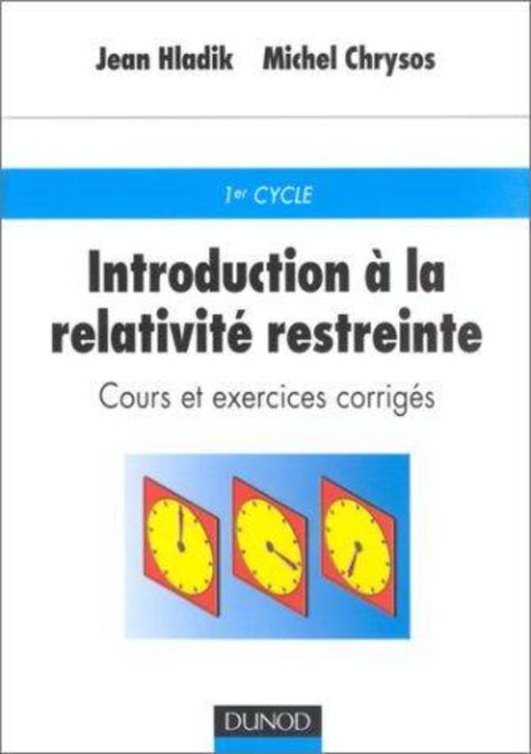 cours de relativite restreinte