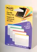 Onglets Post-it 2'x1.5' Blanc/Ligne de 4 couleurs         686F-1B