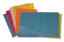 Porte-documents VLB Swirl 2 pochettes Lettre Poly. opaque Ass.   AE92260