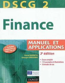 Finance : Manuel et applications : 3e édition