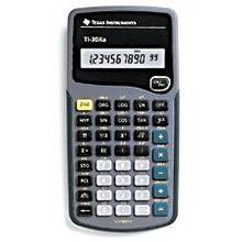 Calculatrice scientifique Texas Instrument TI-30XA