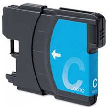 Cartouche Brother #LC-61C cyan