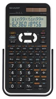 Calculatrice scientifique Sharp EL-546           EL-546XB-WH